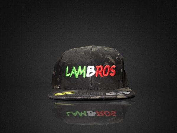 Lambros Camo Hat Front 1