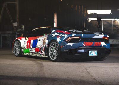 Trump Lamborghini 1