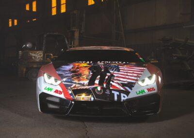 Trump Lamborghini 2