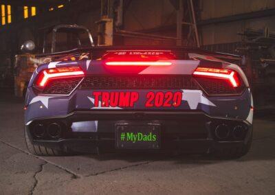 Trump Lamborghini 8